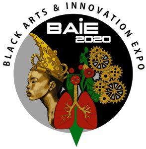 2020 Black Arts and Innovation Expo logo